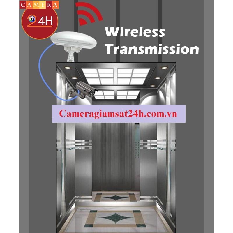 Giải pháp camera IP không dây trong thang máy SB-156HW